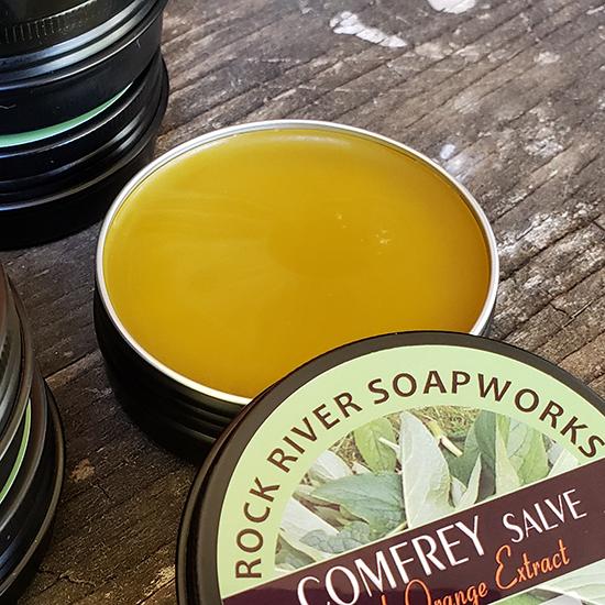 Comfrey Salve with Orange Extract